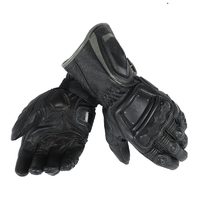 Free Shipping 2018 Dain 4 Stroke Long Adult Cowhide Leather Gloves Racing Glove Motorcycle Bike Glove
