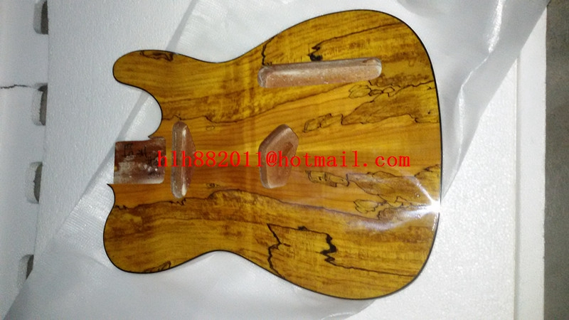 free shipping new natural single wave electric guitar mahogany body   the guitar body pattern of random selection  F-5065 2016 shanghai guitar show new body acrylic guitar real guitar photos free shipping