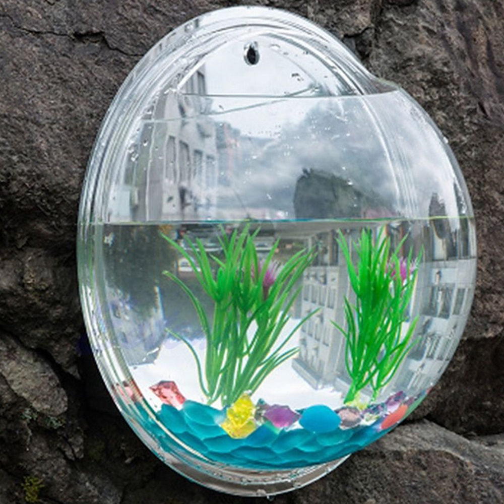 Transparent Mirror Fish Art Creative Wall Mounted Plant Bubble Aquarium Home Decoration Mirror Fish Tank Aquarium Bubble Aquarium Tank Aquariumfish Tank Aquarium Aliexpress