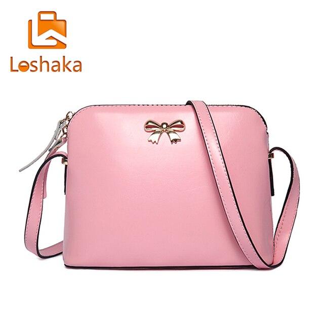 Fashion Candy Color Designers Bag Small Bow Crossbody Bags Las Handbag Brand Celebrity Leather Woman