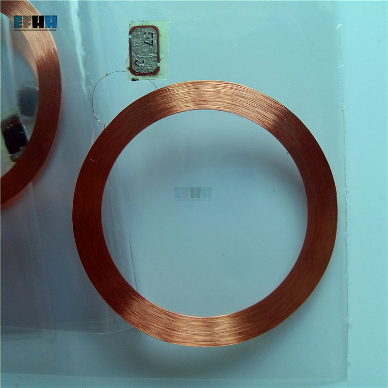 125KHZ T5577/T5557/T5567 Rewritable RFID Tag Coil+Chip Card Inlay Without PVC Cover For Copier Duplicator Access Control Card-in IC/ID Card from Security & Protection