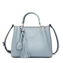 Berühmte Marken Designer Handtaschen Hochwertige Mode frauen Aus Echtem Leder Handtaschen Quaste Vintage Frauen Messenger Bags N164
