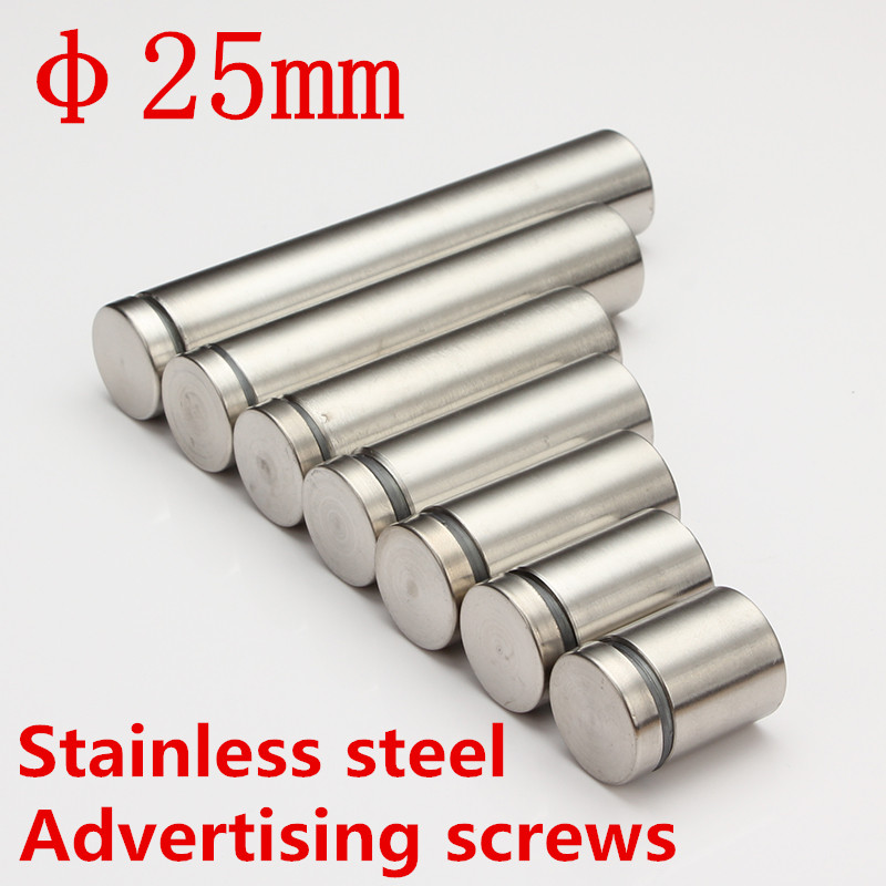 ethics of television advertisement Size M25 Stainless Steel Advertisement Fixing Screws Glass Standoff Pins
