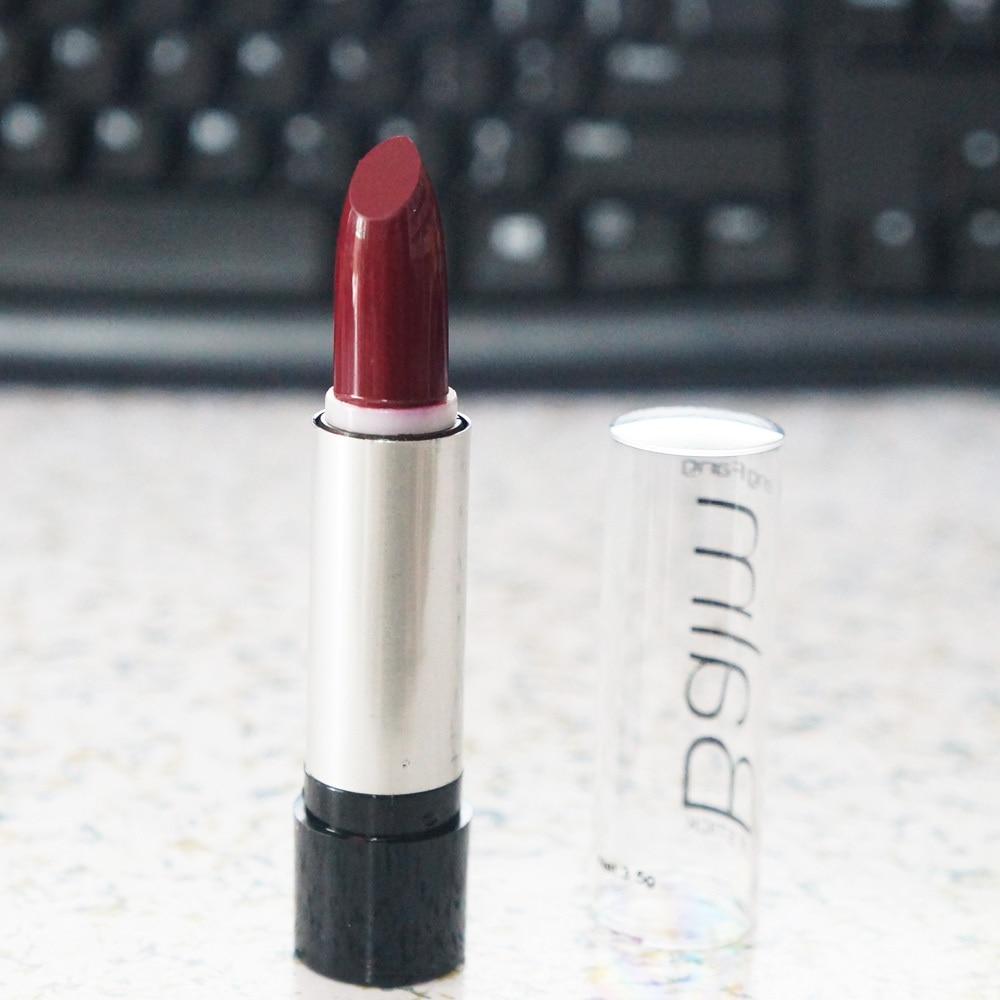 1 pcs Hot Vender Vinho Batom Vermelho batom Hight Qualidade Maquiagem Maquiagem profissional batom cosméticos batom à prova d' água
