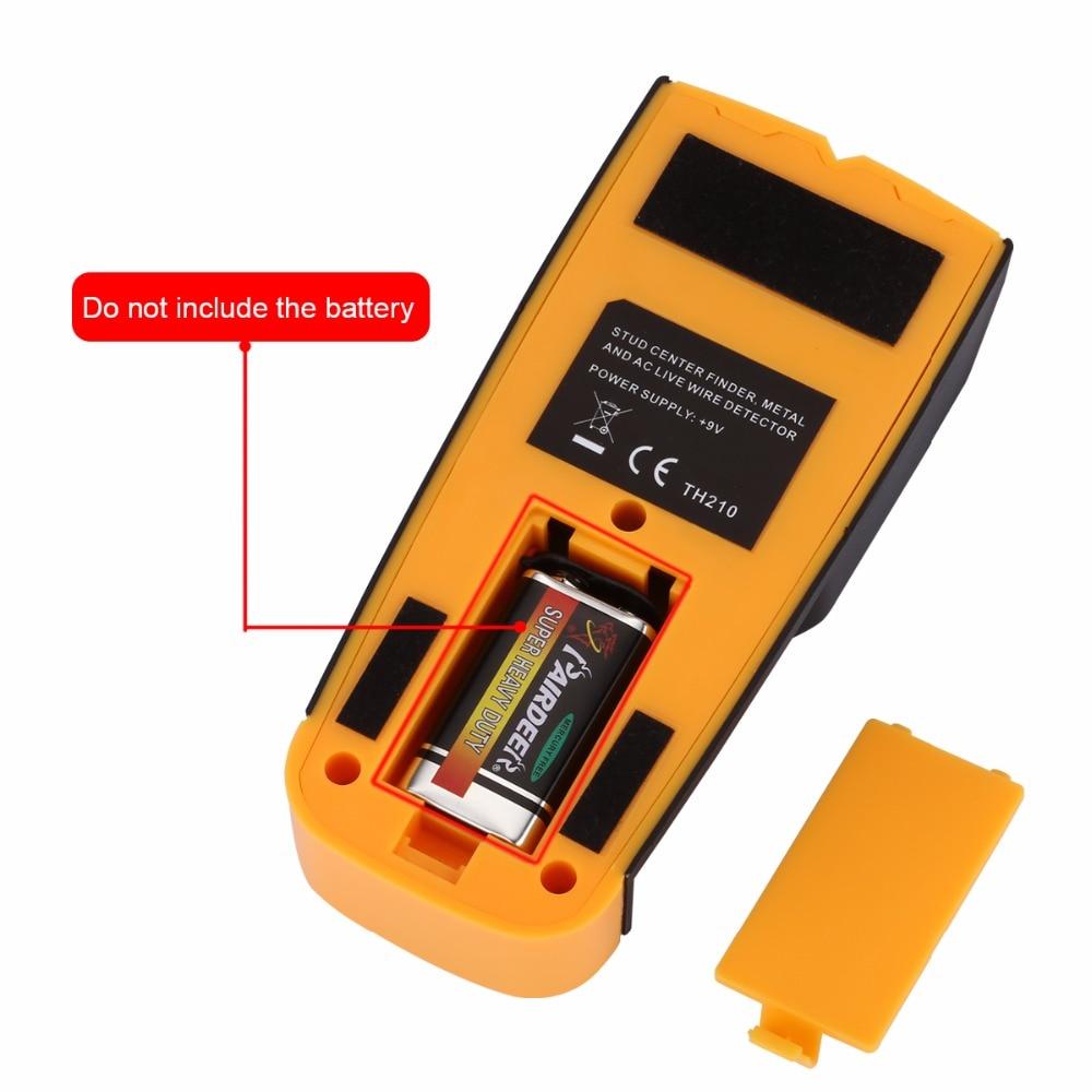 Floureon 3 In 1 Metal Detectors TH 210 Find Metal Wood Studs AC ...