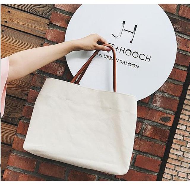 Canvas Totes Beach Bag Shoulder Bag 2
