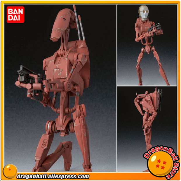 Star Wars Original BANDAI Tamashii Nations S.H.Figuarts / SHF Action Figure - Battle Droid Geonosis Color