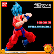 """Dragon Ball Z"" Original BANDAI Tamashii Nations S. h. figuarts/SHF Exclusivo Action Figure-SON GOKU SUPER SAIYAN DEUS SS(China)"