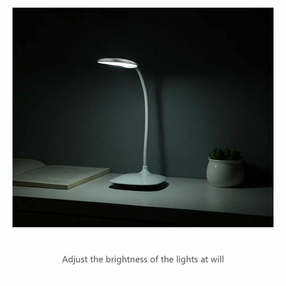Хит продаж 2019 продуктов Диммируемый светодиодный настольный светильник с usb-портом для зарядки Настольная лампа для офисного освещения поддержка прямой доставки