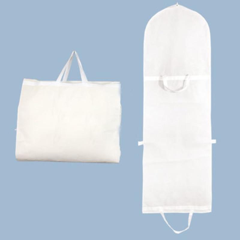 Garment Dress Cover Dustproof Storage Bag Foldable Long Bridal Wedding Dresses P7Ding