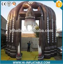 outdoor inflatable skull arch nightclub for halloween decoration sale
