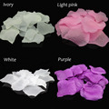 fashion 10Colors 500pcs/lot Artificial Silk Rose Petals Wedding Favor Party Decoration Flowers Petalas Carpet Weddings