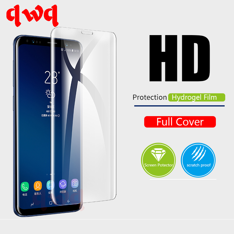 Full Protection Hydrogel Film For Samsung Galaxy S8 S9 Plus Note 8 HDD Screen Protector For Galaxy A5 A7 2017 16 S7 S6 Edge FilmFull Protection Hydrogel Film For Samsung Galaxy S8 S9 Plus Note 8 HDD Screen Protector For Galaxy A5 A7 2017 16 S7 S6 Edge Film