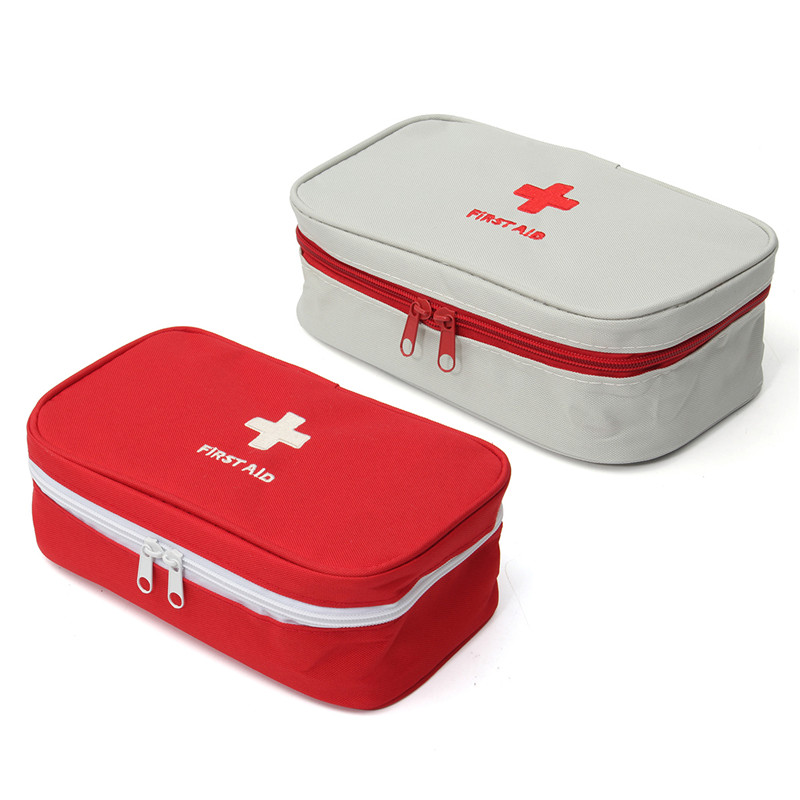 NEW Portable Empty First Aid Bag Kit Pouch Home Office Medical Emergency Travel Rescue Case Bag Medical Package