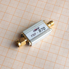 FBP 870 870 (840 ~ 900) MHz filtro passa banda, tamanho ultra pequeno, interface de SMA