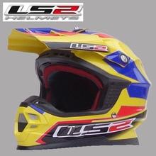 Free shipping genuine LS2 MX456-2 professional off-road helmet motorcycle helmet full helmet with airbag / Preferred Colombia