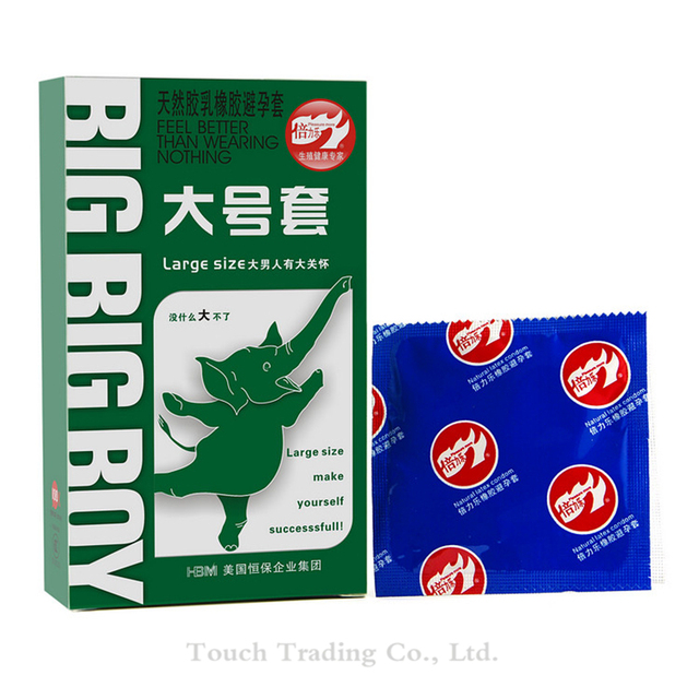 30Pcs Large Size Big XXL Condom For Men Smooth Women Vaginal Adult Game Sex Toy Sex Products For Man