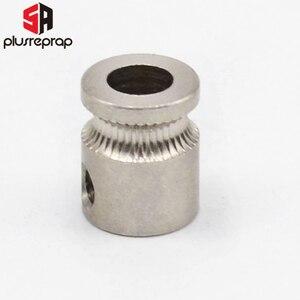 Image 3 - 50 Uds MK8 engranaje impulsor de acero inoxidable para impresora 3D de 1,75mm y 3mm extrusora de filamentos Reprap