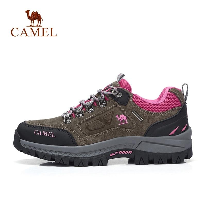 CHAMEAU homme femme En Plein Air chaussures de randonnée Anti-Slip Durable chaussures de trekking perméables qualité supérieure Montagne Escalade Chaussures