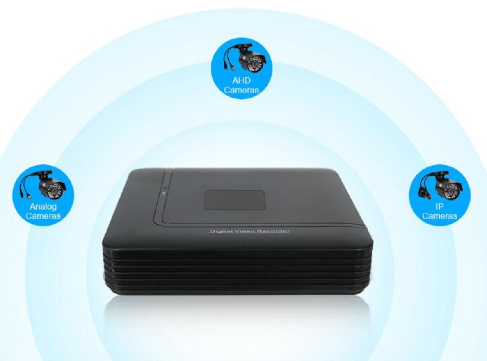 цена на AHD 1080N 4ch 8CH CCTV DVR Mini DVR 5IN1 For CCTV Kit VGA HDMI Security System Mini NVR For 1080P IP Camera Onvif DVR