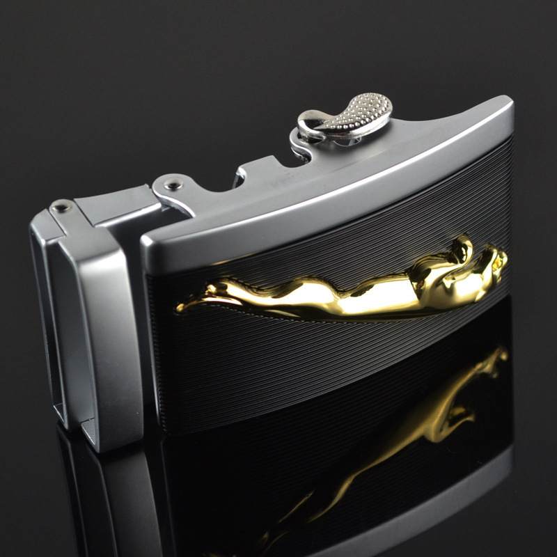 New Luxury Brand Famous Designer Belts Automatic Buckle For 3.5cm Leather Belt High Quality Men Fashion Gifts For Men LY125-0182
