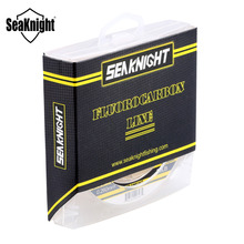 SeaKnight SK16 New 100% Japanese 100M Fluorocarbon Fishing Line 1.8 Carbon Monofilament Carp Wire Leader Line 3-50LB