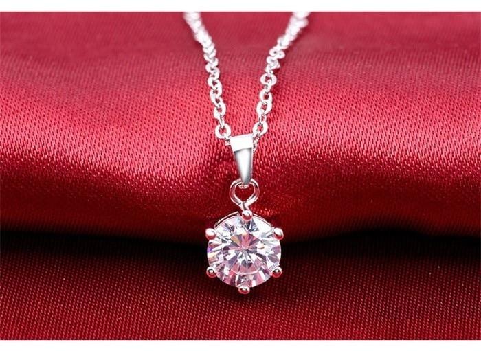 Lyxvarumärke 100% äkta 925 sterlingsilver smycken uppsättningar - Märkessmycken - Foto 3