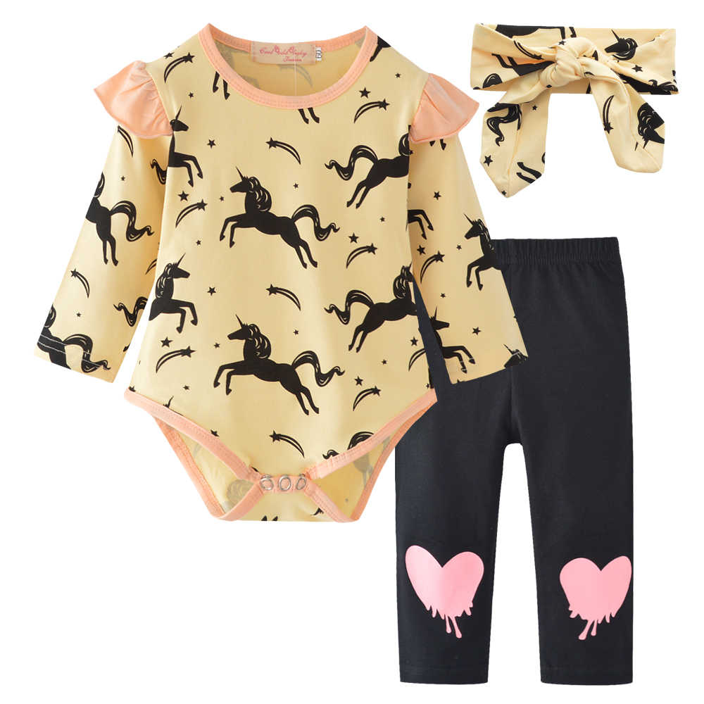 7b6e0c0d3 Detail Feedback Questions about 3Pcs Newborn Baby Girl Clothes Pink ...