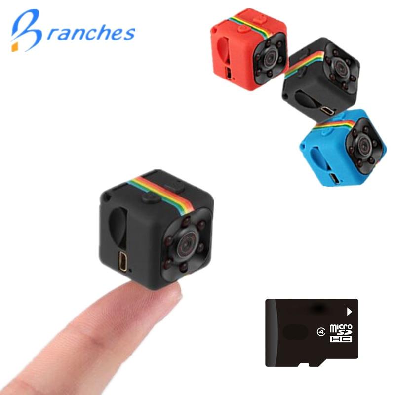 SQ11 HD 1080 p coche CMOS Sensor de visión nocturna Cámara Micro mini cámaras cámara cam DVR DV movimiento grabadora videocámara SQ 11