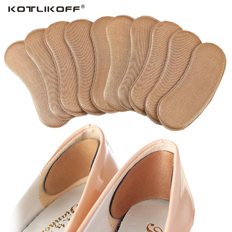 3pair High Quality Sponge Invisible Back Heel Pads for High Heel Shoes Grip Adhesive Liner Foot Care Cushion Insert Pads Insoles 2 pairs silicone gel insoles for shoes foot care cushion pads back heel inserts grip liner high heel protector