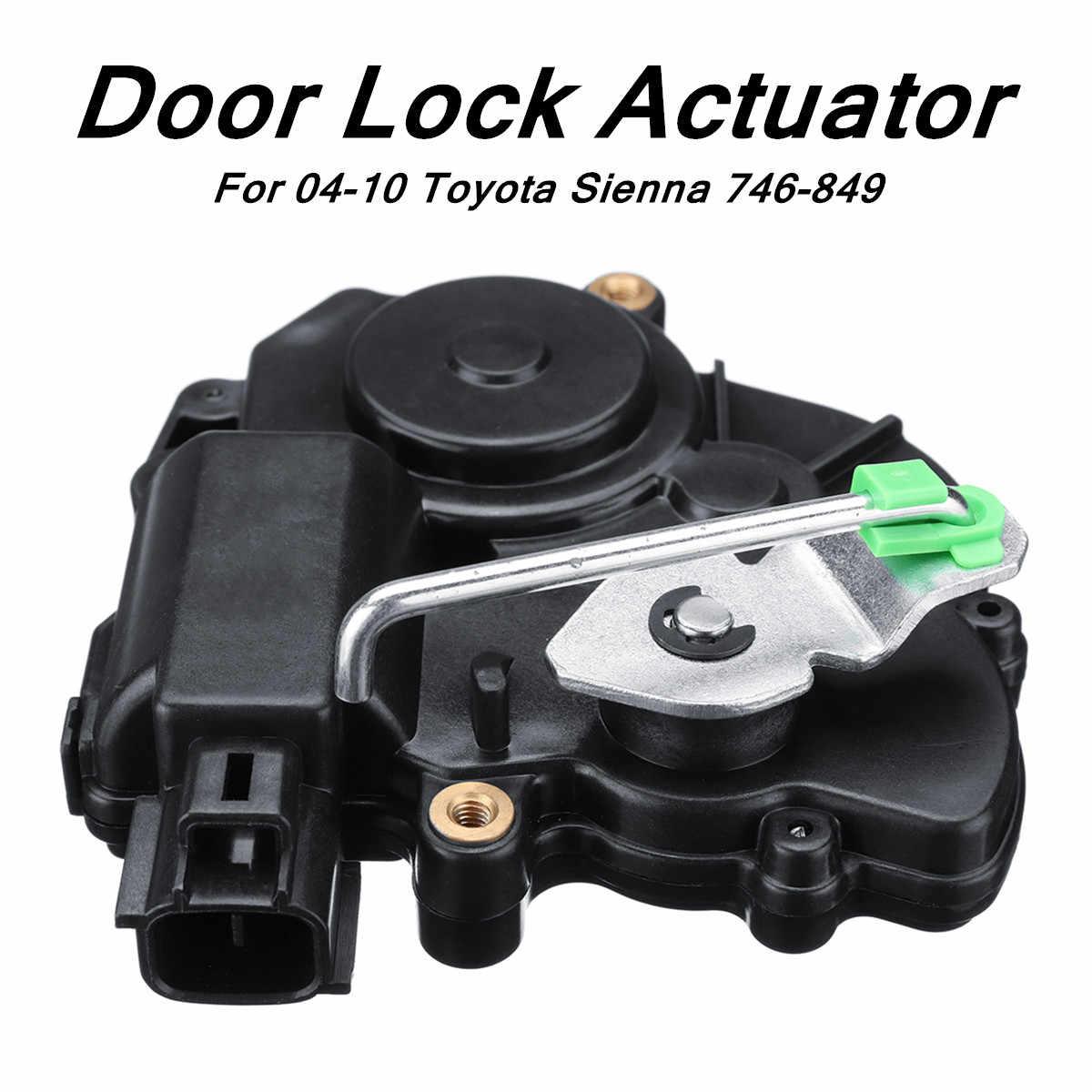Door Lock Actuator Motor Right Side Sliding 746-849 For 2004-2010 Toyota Sienna