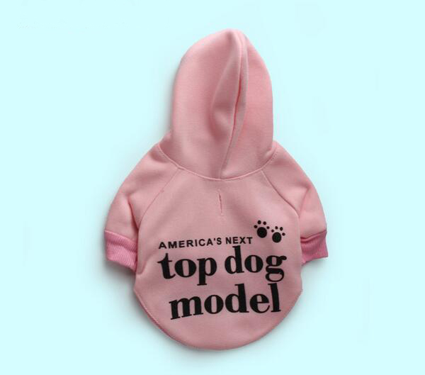 1pcs pet dog cat fashion spring autumn hoodies clothes doggy letters printed sweatershirts clothing dogs cats sweaters