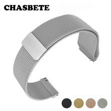 16mm 18mm 20mm 22mm 23mm Stainless Steel Watch Band for Fossil