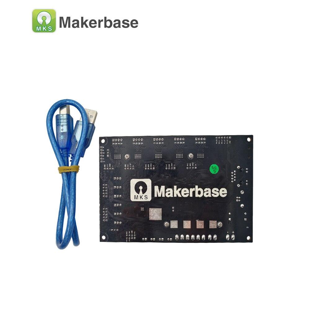 MKS SBASE V1.3 CE et RoHS 32bit Bras plate-forme Lisse contrôle conseil open source MCU-LPC1768 soutien Ethernet préinstallé radiateur - 2