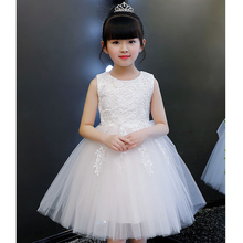 Girls Fluffy Dress 2019 new Princess Party Dress Children Formal Clothes Kids Dresses for Girls Wedding Evening Clothing все цены