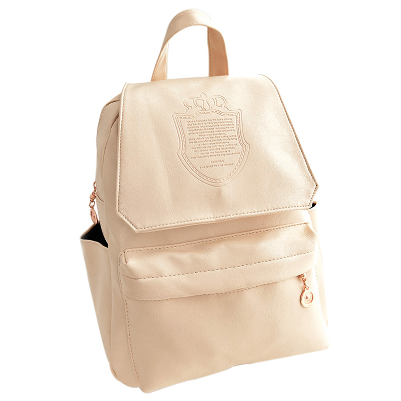 VSEN Hot Fashion Oil Leather Backpack Women School Bags for Teenagers PU Leather Backpack Travel Bag Pouch рюкзак school bags women backpack women bags pouch 2014 ls5208 women backpack women bags pouch 2015 school bag