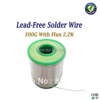 Freeshipping 0 8mm 500g Lead Free Low Melting Point Solder Soldering Wire Electronic Repair Welding Wire