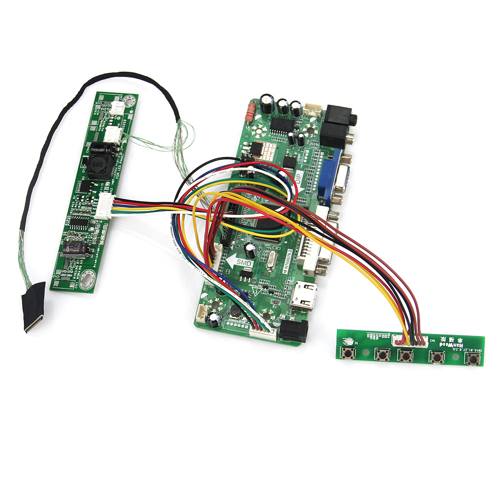 M.NT68676 LCD/LED Controller Driver Board(HDMI+VGA+DVI+Audio) For LP133WX3-TLA5  N133IGE LVDS Monitor Reuse Laptop 1280*800