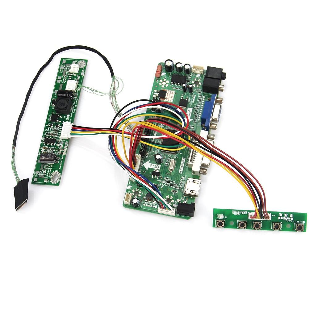 Driver Board Monitor Kit for LP133WX3-TLA5 1280X800 NT68676 HDMI+DVI+VGA+Audio