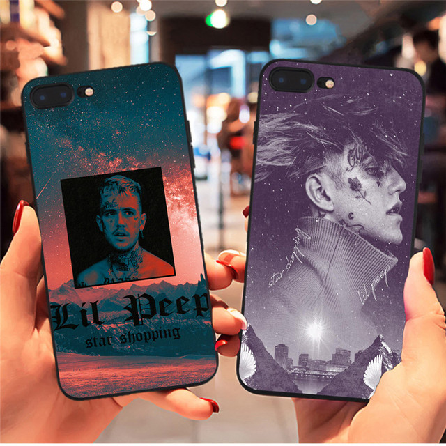 LIL PEEP THEMED IPHONE CASE (8 VARIAN)
