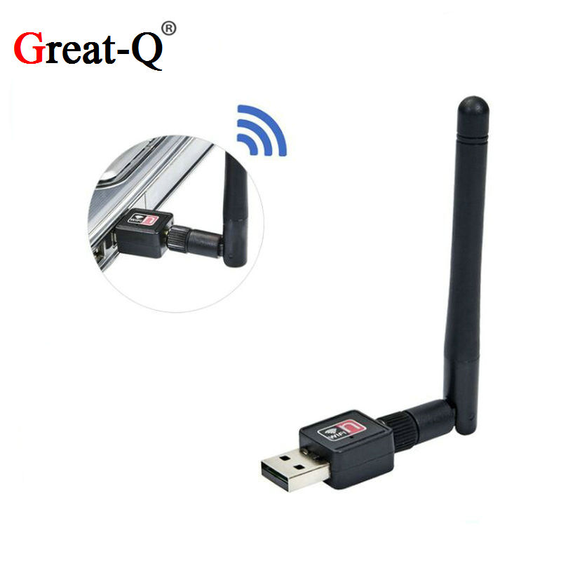 Ralink MT7601 150M 2.0 USB Dongle Wireless WIFI NETWORK Card 802.11 B/g/n LAN Antena Wi-fi Adapter Wi Fi  Adaptador
