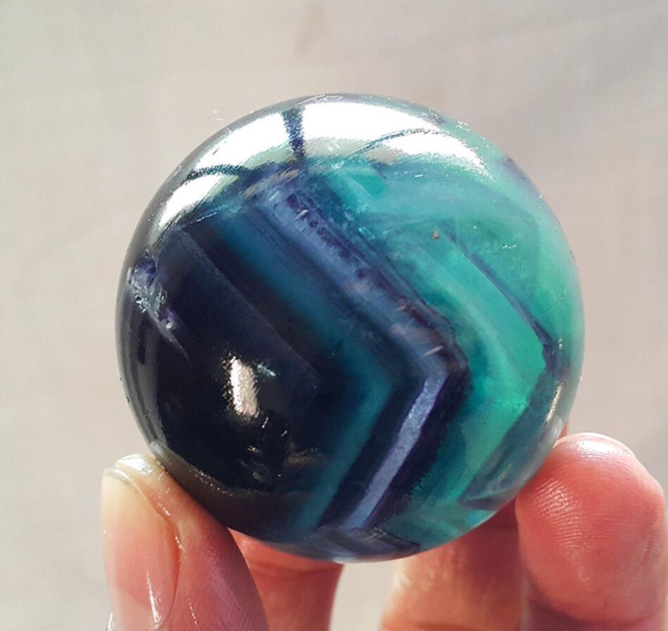 45mmNatural Fluorite Quartz Crystal Sphere Ball Healing 45mmNatural Fluorite Quartz Crystal Sphere Ball Healing