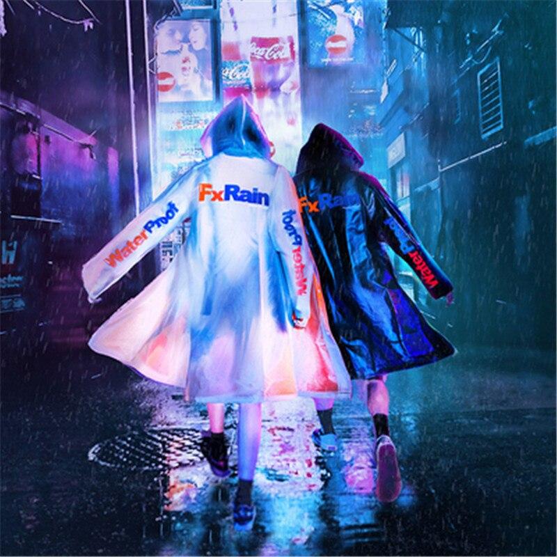 HFNF Raincoat Walking Jacket Waterproof Sunscreen couple Umbrella   Coat   Poncho Waterproof Shirt