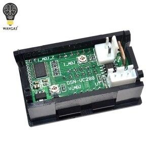 """Image 4 - DC 0 100V 10A woltomierz cyfrowy amperomierz podwójny wyświetlacz czujnik napięcia miernik prądu Panel Amp woltomierz 0.28 """"czerwony niebieski LED"""