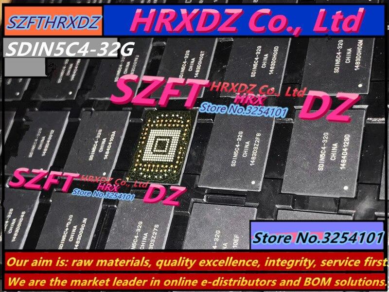 SZFTHRXDZ     100% New original SDIN5C4-32G BGA EMMC  32G 100% 4 5