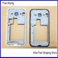 Original Middle Bezel Back Housing Cover Frame For Samsung Galaxy J1 J100  Housing With Side Button Key