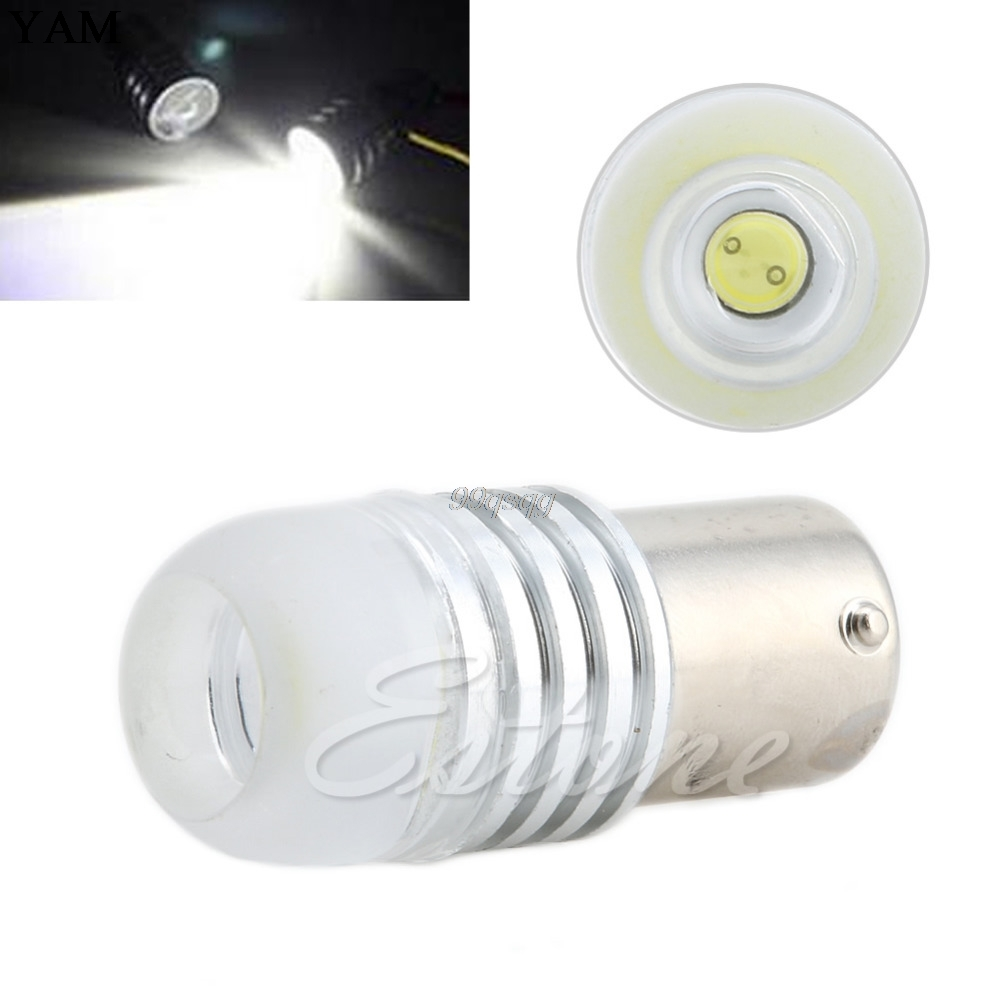 Super bright White DC 12V 1156 BA15S P21W LED Car Bulb Reverse Light/signal lamp Car Light Source Drop shipping h3 led белый dc 12v день вождения 7 5 вт super car противотуманные фары лампочки авто