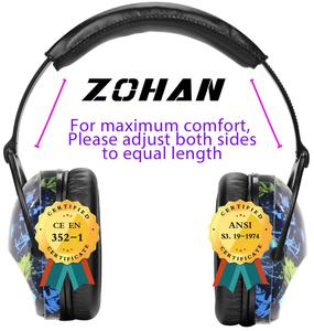 Image 4 - הזוהן ילדים אוזן הגנת בטיחות אוזן מופס NRR 22dB רעש הפחתת מגיני אוזניים הטוב ביותר שמיעה מגיני לילדים תינוקות בנים