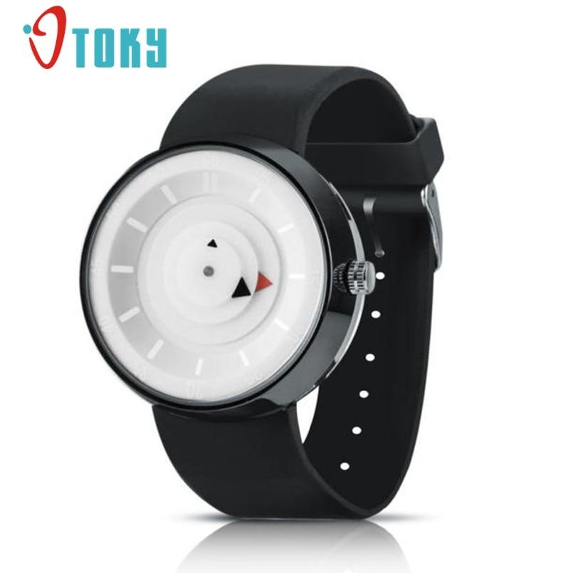 New Arrive Mens Quartz Relogio Masculinos Dial Glass Time Men Clock Business Round Case Hour Watch Relojes Hombre Dropship