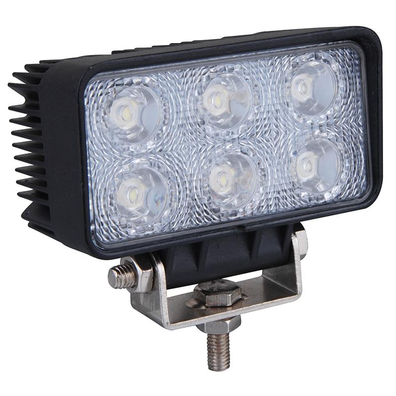 1 piece 18W 6 x 3W Car sport light/flood light LED Light Bar Work light for Boating Hunting Fishing yst x 18 6 5x16 5x114 3 et50 d66 1 bkws
